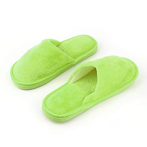 Caoutchouc Adulte Respirant Chaud Femmes Hommes Souple En Maison Chaussures Semelle Antidérapantes Intérieur Pantoufles Peluche Silencieux Coton qZFEEU