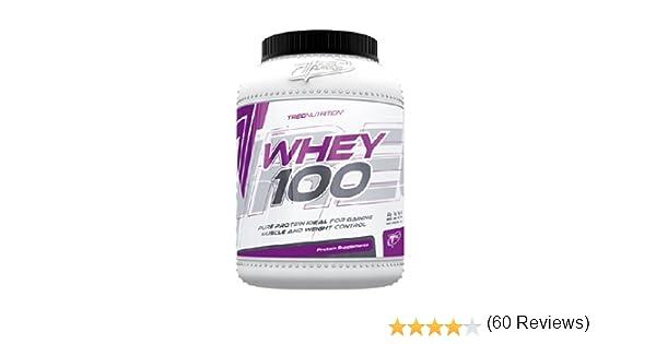 100% Whey Protein 600g - 100% de proteína de suero - Slim Body ...