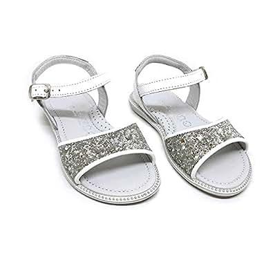 Ten.Ten White Flat Sandal For Girls