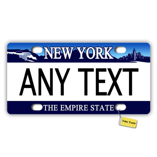 CUSTOM PERSONALIZED 2 HOLE BICYCLE STATE LICENSE PLATE-FLORIDA BIKE