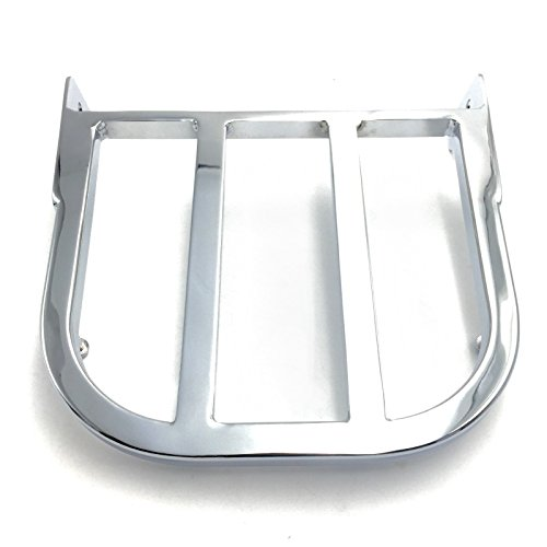 SMT- Replacement of Motorcycle Chrome Sissy Bar Luggage Rack For 1997-2007 Suzuki Marauder VZ800/ 2005-2009 Suzuki Boulevard C50/C90 /2012-2013 Suzuki Boulevard ()