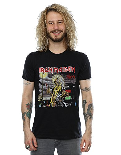 Iron Maiden Men's Killers Album T-Shirt XX-Large Black