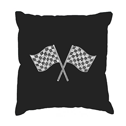 National Series Race (Throw Pillow Cover - NASCAR NATIONAL SERIES RACE TRACKS)