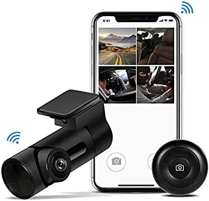 Cámara Y6 WiFi Dash Cam 360° Fisheye Panoramic Full HD1080P ...