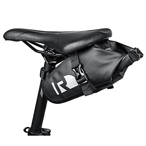 OUTON Waterproof Bicycle Saddle Bag Strap-on Bag Rainproof Mountain Road MTB Saddle Pouch Bike Under Seat Pack Cycling Tail Bag Bicycle Repair Tools Pocket Pack