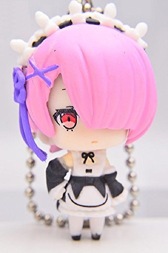 Re: Zero Starting Life in Another World: Ram Figure Keychain Mascot ~ Ram with Uniform