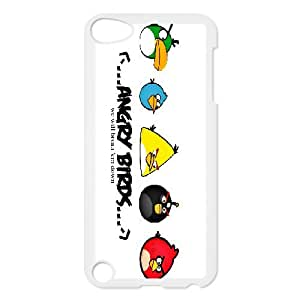 DIY Printed Angry Birds hard plastic case skin cover For Ipod Touch 5 SNQ543497