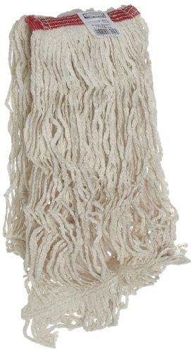 Rubbermaid Commercial Super Stitch Cotton Mop, Large, White, FGD11306WH00 by Rubbermaid Commercial Products (Image #1)