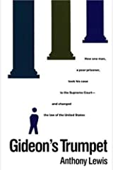 Gideon's Trumpet by Anthony Lewis (1989-04-23) Paperback