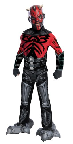 Rubie's Deluxe Mechanical Kids Darth Maul Costume, Large ()