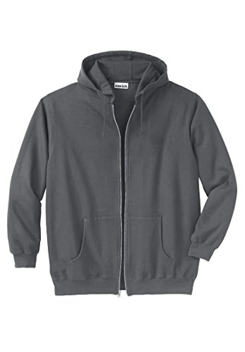 KingSize Mens Fleece Zipper Hoodie