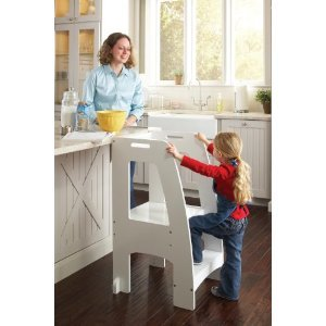 Great Guidecraft Kids Kitchen Helper Safety Tower Sturdy Step Stool White (Holds Up To  sc 1 st  Amazon UK & Great Guidecraft Kids Kitchen Helper Safety Tower Sturdy Step ... islam-shia.org