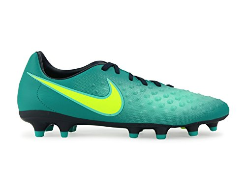 Nike Mens Goochelaar Wave Ii Fg Rio Teal / Volt / Obsidian / Clear Jade Voetbalschoenen