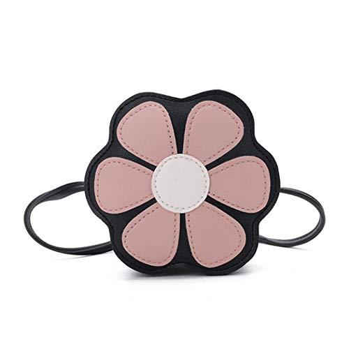 Coafit Sac Pour Mini Lovely Pattern Crossbody Purse À Bag Pink Enfants Bandoulière Flower qAwBW1gq