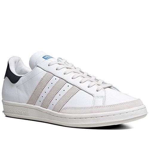 adidas , Herren Sneaker Weiß White, Navy