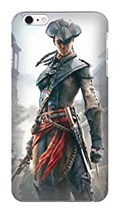 Durable hard TPU Phone Protection Case/cover fashionable New Style Popular Assassin's Creed Designed for iphone 6 Plus Kimberly Kurzendoerfer