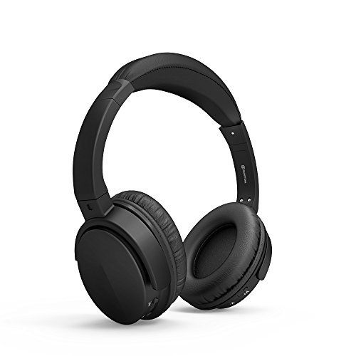Stereo Bass Over-the-Ear Headphones Headset (Black) - 9