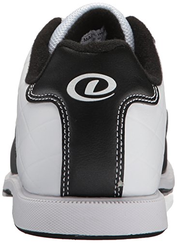 Dexter Womens Groove III Bowling Shoes, White/Black, Size 8.5
