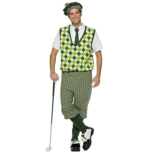 Old Time Golfer Adult Costume -