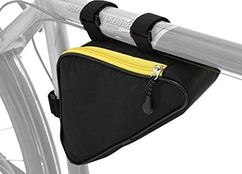 Oberrohr Rahmentasche für MTB | Große Fahrrad Dreieck Oberrohrtasche (Wasserabweisend)