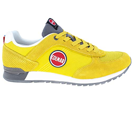 Colmar Tracol Rouge Lacets grigio Bleu Chaussures Giallo Homme Baskets rosso wOPkn80X