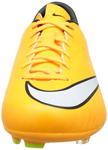 Nike Kids Jr Mercurial Victory V FG Soccer Cleat Laser Orange/Black/Volt/White CjWEH70Gb