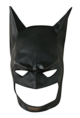 Batman Black Mask Mask For Sale (Rubie's Costume Co Men's Batman Begins Adult Batman Mask, Black, One Size)