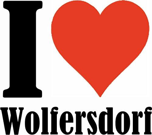 """Handyhülle iPhone 4 / 4S """"I Love Wolfersdorf"""" Hardcase Schutzhülle Handycover Smart Cover für Apple iPhone … in Weiß … Schlank und schön, das ist unser HardCase. Das Case wird mit einem Klick auf dein"""