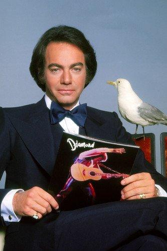 Neil Diamond Tuxedo Posing With Seagull 11x17 Mini Poster Great Image ()