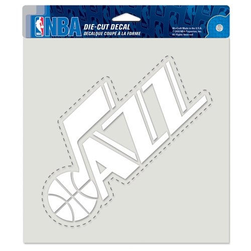 WinCraft NBA Utah Jazz WCR29772010 Perfect Cut Decals, 8'' x 8'' by WinCraft