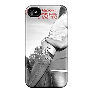 High Impact Dirt/shock Proof Case Cover For Iphone 4/4s (i Love You)