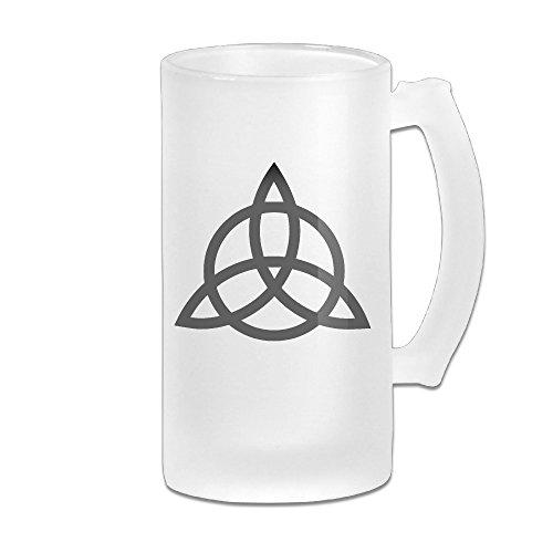 Led Zeppelin Band Logo Grind Beer Glass Mug (Rolling Caterpillar)