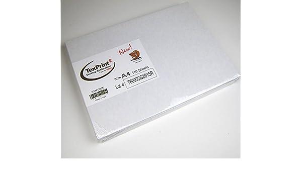 Sublimation Papier film de transfert texp Rint-R 110 pièces A4 ...