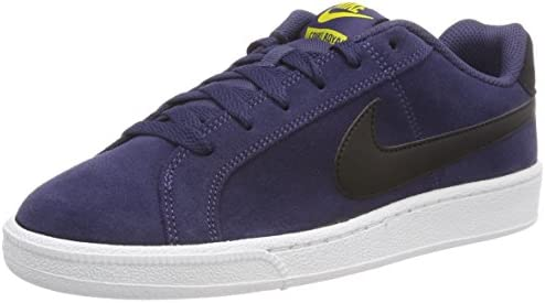 juntos Paseo máquina de coser  Nike Men's Court Royale Suede Tennis Shoes, Blue (Neutral Indigo/Tour  Yellow/White/Black 500), 6/6.5 UK 40 EU, 819802-500: Buy Online at Best  Price in UAE - Amazon.ae