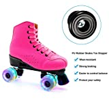 4 Pieces Rubber Roller Skate Toe Stoppers Roller