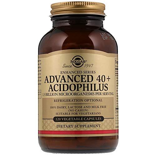 (Solgar Advanced 40 Plus Acidophilus 120 Vegetable Capsules)