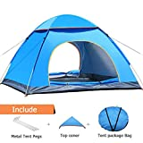 XIANRUI Pop Up Tent Beach Tent, 2-3 Person Camping Tent Camouflage Dome Tent Family Camping Tents Sun Shelter 4 Season Portable Automatic Pop Up Waterproof Tent with Carry Bag for Backpacking Travel