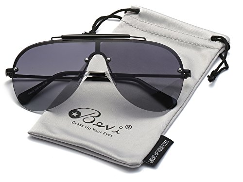 Bevi Polarized Aviator Sunglasses Fashion Brand Designer Driving SUN Glasses 0930Z1