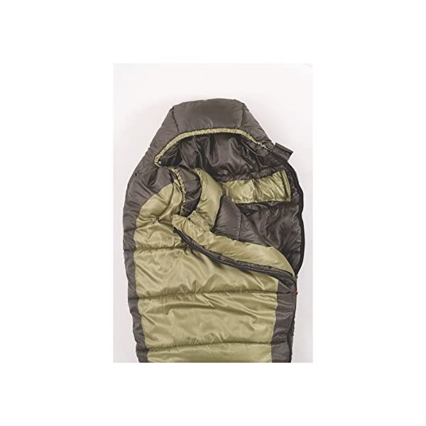 Coleman 0F Mummy Sleeping Bag For Big And Tall Adults North Rim Cold Weather Sleeping Bag