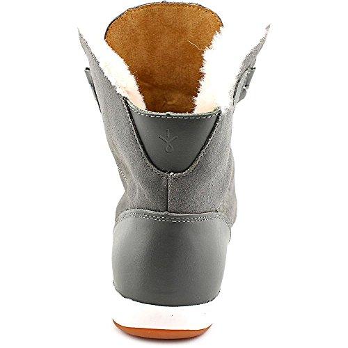 Emu Australia Kvinners Uformelle Støvler Winton Ku Semsket Kull