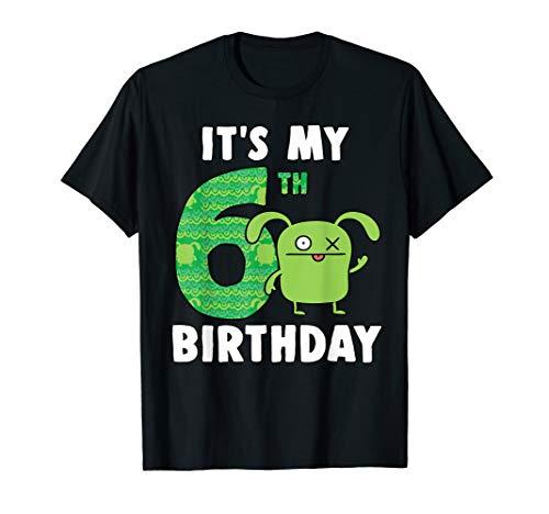 Ugly Dolls It's my 6th Birthday Ox Birthday Boy T-Shirt]()