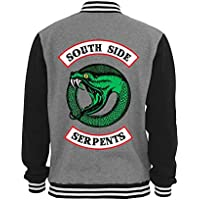 Jaqueta De Moletom College Criativa Urbana Riverdale Série Serpentes Logo 2 - Masculina