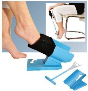 Sock Aid Easy On & Easy Off - KIT for Putting the Socks ON and Taking them OFF without bending by SOCK AID EASY ON & EASY OFF KIT - ORIGINAL