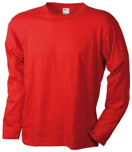 red T Nicholson amp; Homme Shirt James Rouge W78f1vv