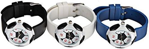 DISOK - Reloj Balón Futbol - Relojes Originales Infantiles para Detalles de Comuniones