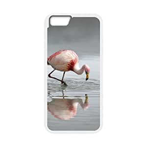 """QSWHXN Cover Shell Phone Case Flamingos For iPhone 6 Plus (5.5"""")"""