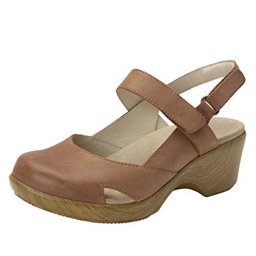 - Alegria Tarah Womens Sandal Cognac 9 M US