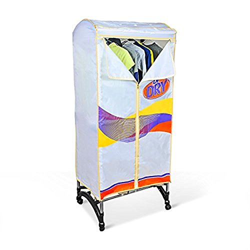 Dr. Dry Portable Clothing Dryer - 1200-Watt Power Heater and Laundry Drying Rack with 66Lb. Capacity
