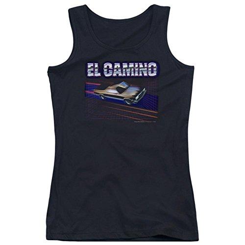 Juniors Tank Top: Chevy- El Camino Dash Juniors (Slim) T-Shirt Size M - Dash Tank