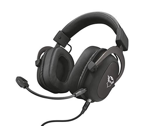 🥇 Trust GXT 414 Zamak Auriculares Gaming para PC